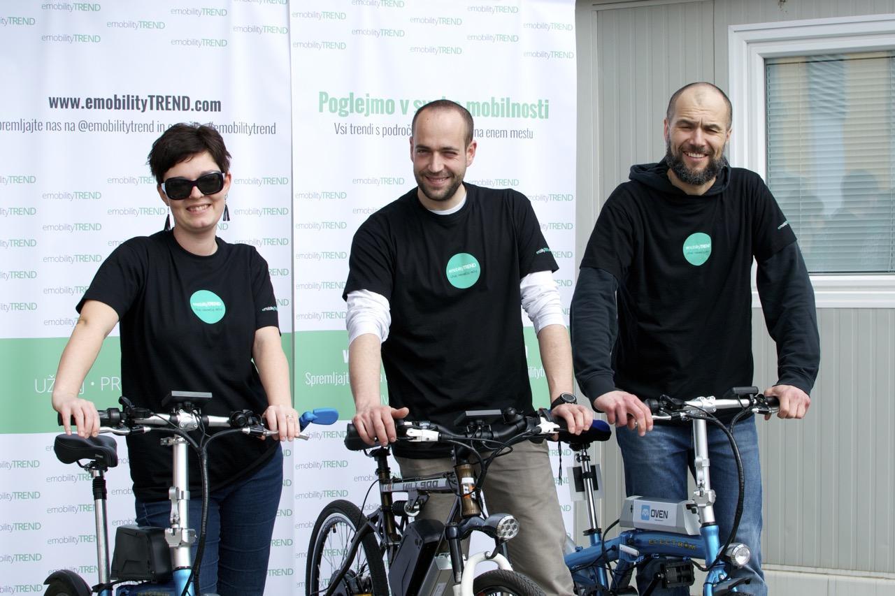 Otvoritev akcije testiranja e-koles