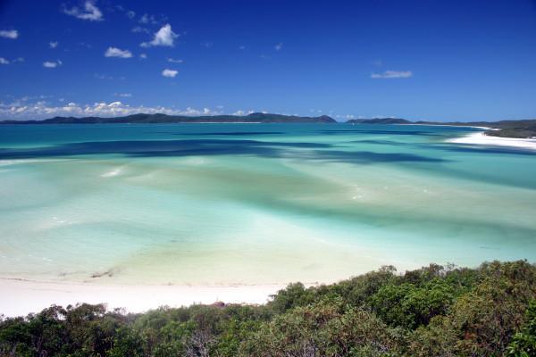 Whitehaven beach, Avstralija. Foto: Damien Dempsey, Wikipedia