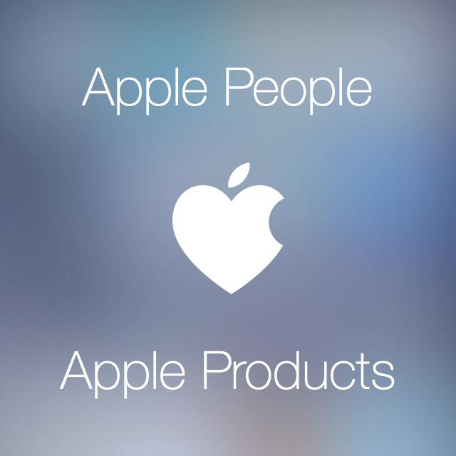 apple people love apple products