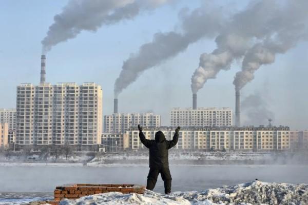 Industrijsko onesnaževanje na Kitajskem.