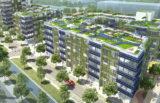 V Nemčiji raste največji kompleks pasivnih hiš na svetu