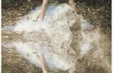 Poročna obleka iz gliv